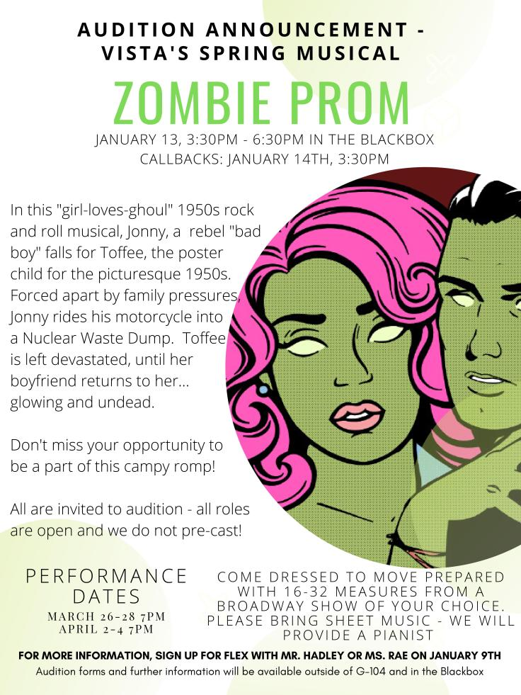 Zombie Prom Audition